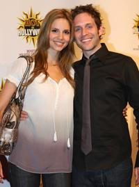Jill Latiano and Glenn Howerton at the 3rd Annual Hot In Hollywood Event.