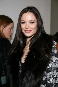 Georgina Chapman at the Mercedes-Benz Fashion Week Fall 2008.