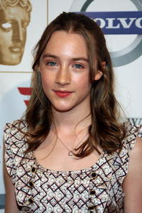 Saoirse Ronan attends the BAFTA/LA's 14th Annual Awards Season Tea Party in Beverly Hills.