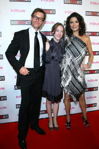 Actors Guy Pearce, Saoirse Ronan and Catherine Zeta-Jones at the Australian premiere of