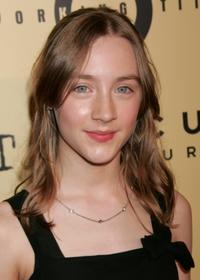 Saoirse Ronan at the premiere of