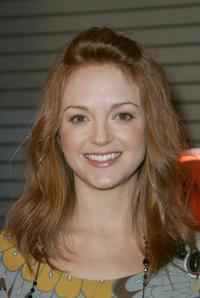 Jayma Mays at the celebration of the wrap of season one of
