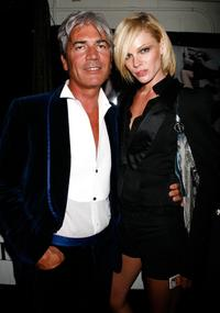 Cesare Paciotti and Kate Nauta at the Bratz Forever Diamondz Lounge.