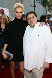 Kate Nauta and Director Andy Fickman at the premiere of