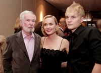 Director Robert Benton, Radha Mitchell and Toby Hemingway at the premiere of