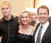 Toby Hemingway, Radha Mitchell and Greg Kinnear at the premiere of