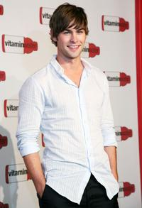Chace Crawford at the Vitaminwater's MLB All-Star week celebration.