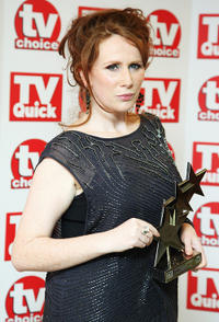 Catherine Tate at the TV Quick & TV Choice 2008 Awards in London.