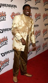 Bernie Mac at the premiere of