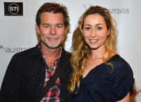 Kieran Darcy-Smith and Felicty Price at the Los Angeles screening of