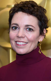 Olivia Colman at the Academy of Motion Picture Arts and Sciences new members reception in London.