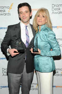 Michael Urie and Judith Light at the 2013 Drama Desk Awards.