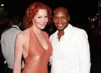 Calpernia Addams and Marcellas Reynolds at the Outfests opening night premiere of