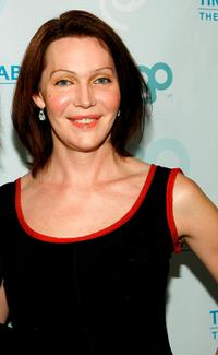 Calpernia Addams at the launch party for MTV Network's LOGO Channel on Time Warner Cable.