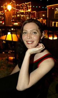 Calpernia Addams at the 2003 Sundance Film Festival.