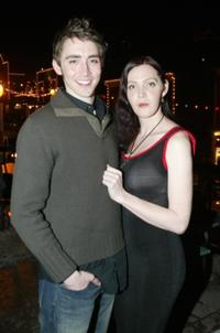 Lee Pace and Calpernia Addams at the 2003 Sundance Film Festival.