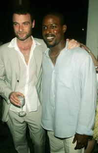 Liev Schreiber and Sterling K. Brown at the after party of the opening night of