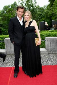 Ken Duken and Marisa Leonie Bach at the Bavarian Television Awards 2009.