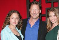 Margarita Levieva, John Allen Nelson and Rebecca Gayheart at the FOX Broadcasting Company Upfront.