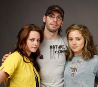 Kristen Stewart, Jesse Eisenberg and Margarita Levieva at the 2009 Sundance Film Festival.