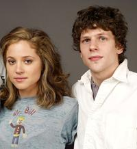 Margarita Levieva and Martin Starr at the 2009 Sundance Film Festival.