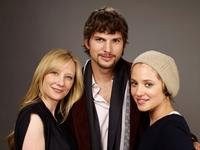 Anne Heche, Ashton Kutcher and Margarita Levieva at the Film Lounge Media Center during the 2009 Sundance Film Festival.