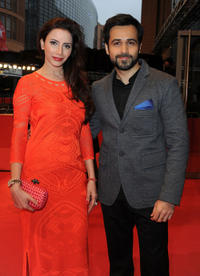 Rashita Chaudhary and Emraan Hashmi at the premiere of
