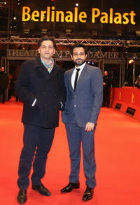 Danis Tanovic and Emraan Hashmi at the premiere of