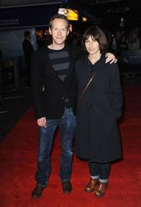 Steven Mackintosh and Lisa Mackintosh at the premiere of