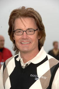 Kyle MacLachlan at the 9th Annual Michael Douglas and Friends Celebrity Golf Tournament at the Trump National Golf Club.