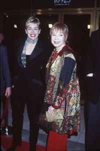 Shirley MacLaine and Sharon Stone at the premiere of