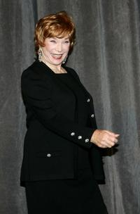 Shirley MacLaine at the Toronto TIFF premiere of