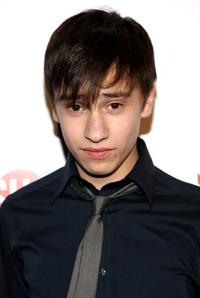 Keir Gilchrist at the premiere of