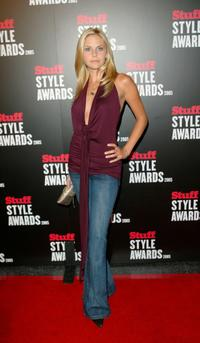 Nikki Griffin at the Stuff Magazine Style Awards.