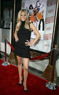 Nikki Griffin at the premiere of