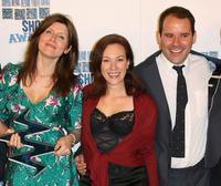 Sharon Horgan, Tanya Franks and Guest at the South Bank Show Awards.