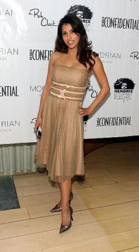 Rachel Sterling at the LA Confidential Magazine's Annual Oscar Party.