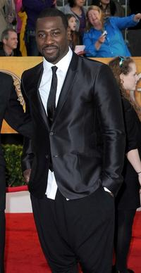 Jacky Ido at the 16th Annual Screen Actors Guild Awards.