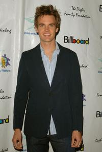 Tyler Hilton at the CUN, Children's United Nations, Academy Awards celebration dinner and after party.