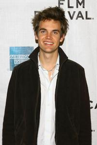 Tyler Hilton at the premiere of