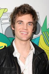 Tyler Hilton at the backstage during the MTV's Total Request Live.