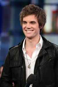 Tyler Hilton at the onstage during the MTV's Total Request Live.
