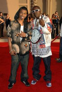 Marcus T. Paulk and Flavor Flav at the 2006 American Music Awards.
