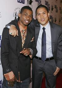 Marcus T. Paulk and Dante Basco at the screening of
