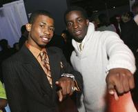 Marcus T. Paulk and Elijah Kelley at the screening of