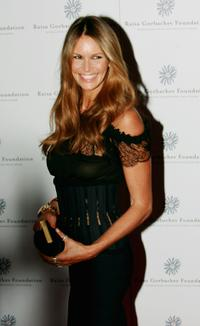 Elle MacPherson at the Raisa Gorbachev Foundations Second Annual Gala Dinner.