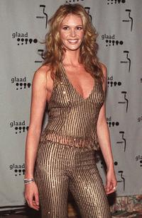 Elle MacPherson at the Gay and Lesbian Alliance Against Defamation (GLAAD) media awards ceremony.
