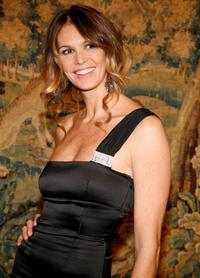 Elle MacPherson at the fashion industry's battle against HIV/AIDs.