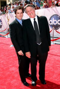 Rick Hearst and Stephen Macht at the 35th Annual Daytime Emmy Awards.