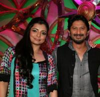 Vaibhavi Merchant and Arshad Warsi at the Indian reality television dance show